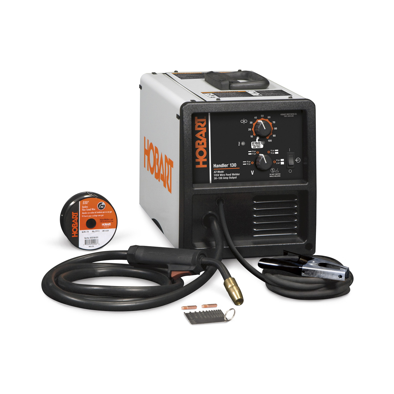 Hobart Welder,20 percent Duty Cycle,Handler 500568 by HOBART