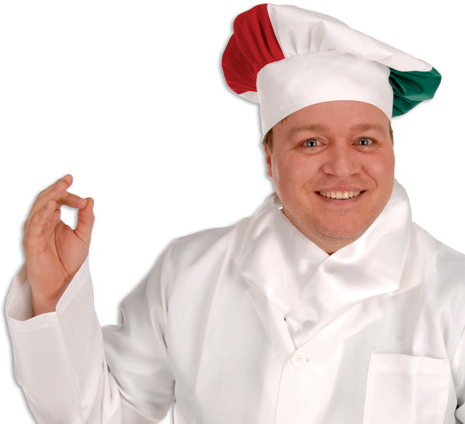 Ddi Oversized Fabric Chef's Hat (pack Of 48)