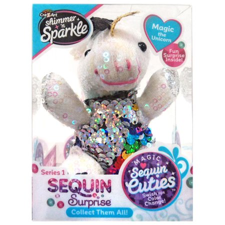 9ee7832a2 Shimmer 'n Sparkle Sequin Surprise Series 1 Magic the Unicorn Mini ...