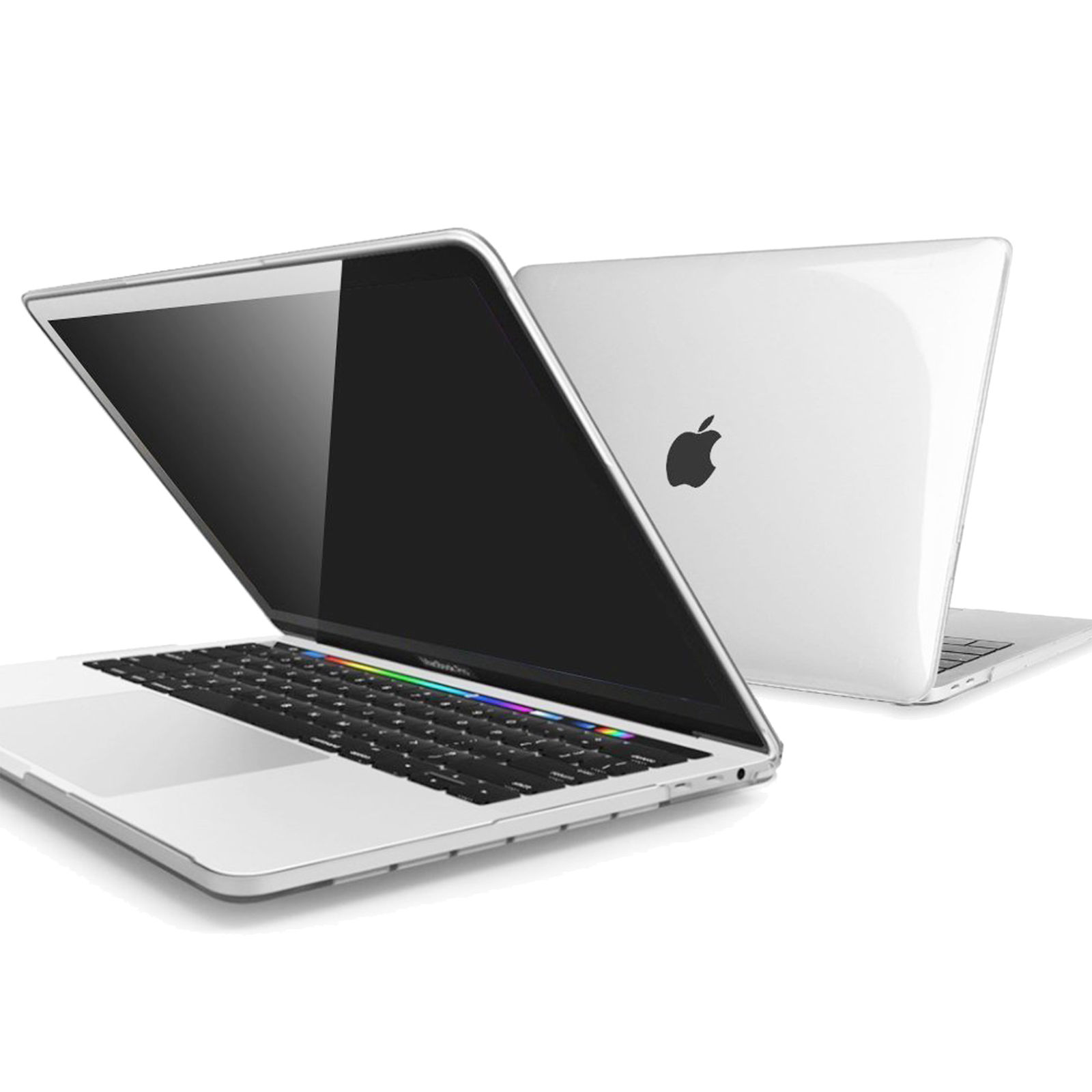 """LIVEDITOR 4 IN 1 See-Through Crystal Case+Soft Bag F Macbook Pro 13""""A1706(With Touch Bar) - image 5 de 7"""