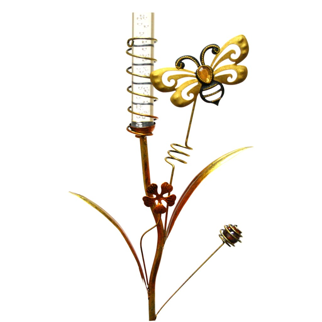"Regal Art  and  Gift 10370 - 35"" x 10"" Bee Stake (Color Changing) Solar LED Light"