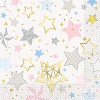 Foil Twinkle Twinkle Little Star Paper Luncheon Napkins, 6.5 in, 8ct