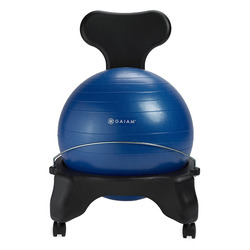 Gaiam Balance Ball Chair, Blue
