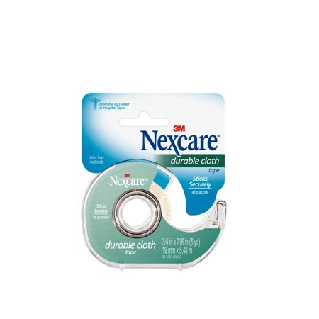 Nexcare Durable Cloth First Aid Tape  Dispenser  3 4 Inch X 6 Yd