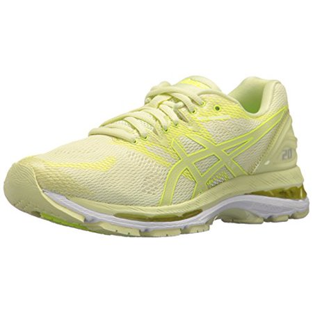 Asics T850N Women's Gel Nimbus 20 Running Shoes, LimelightLimelightSafety Yellow