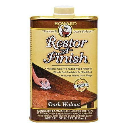 Howards Restore-A-Finish, Dark Walnut, 8oz