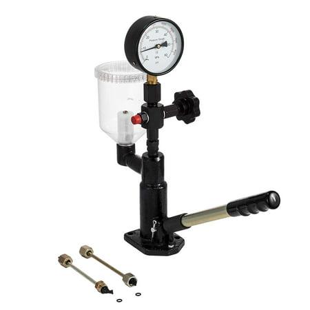 Diesel Test - BestEquip Fuel Test 400Bar/6000PSI Diesel Fuel Injector Tester Heavy Duty Diesel Injector Nozzle Tester