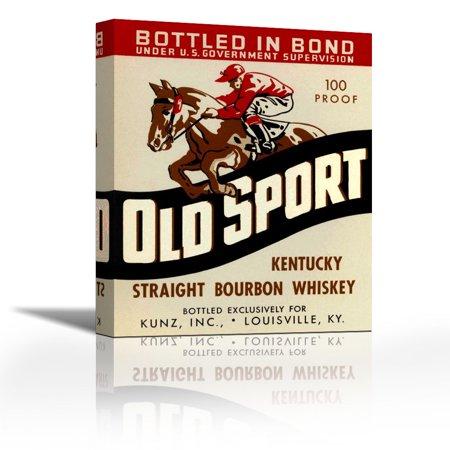 Old Sport Kentucky Straight Bourbon Whiskey - Contemporary Fine Art ...