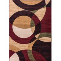 Well Woven Dulcet Bingo Modern Red Area Rug