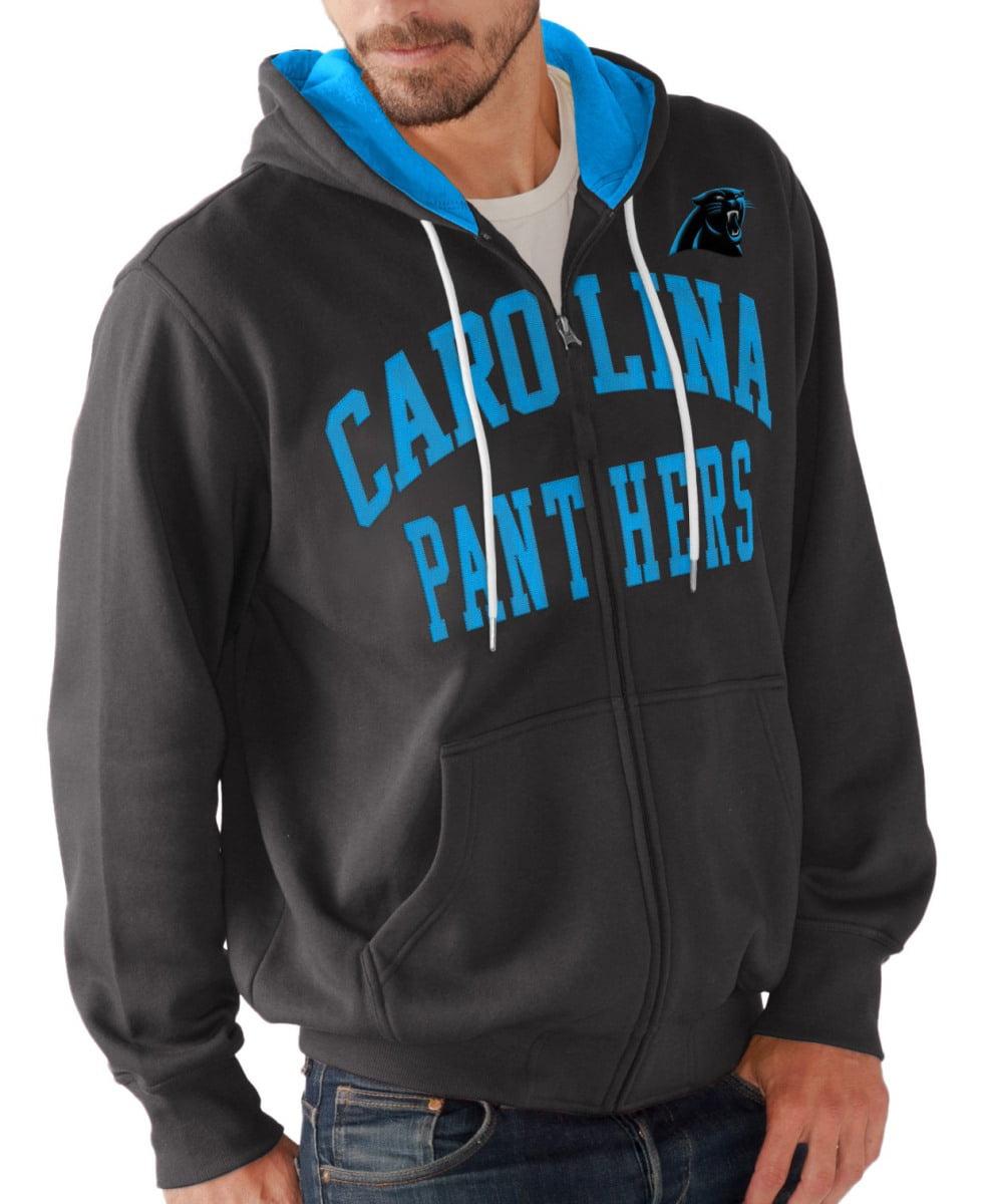 "Carolina Panthers NFL G-III ""Pass Attempt"" Full Zip Hooded Men's Sweatshirt by G-III Sports"