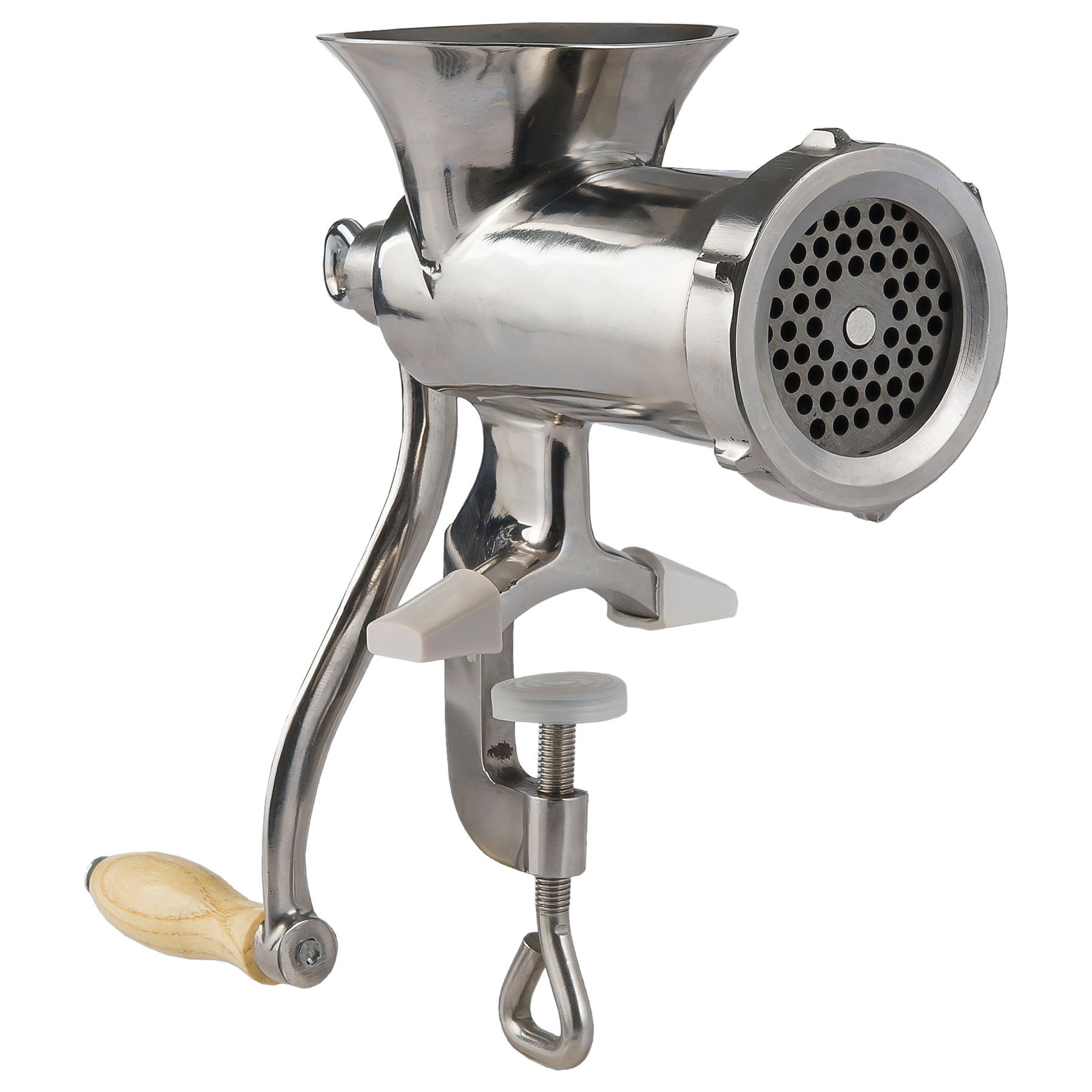 #10 Stainless Steel Clamp On Hand Grinder