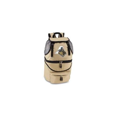 Picnic Time PT-640-00-190-512-0 Purdue Boilermakers Zuma Embroidered Cooler Backpack in Beige