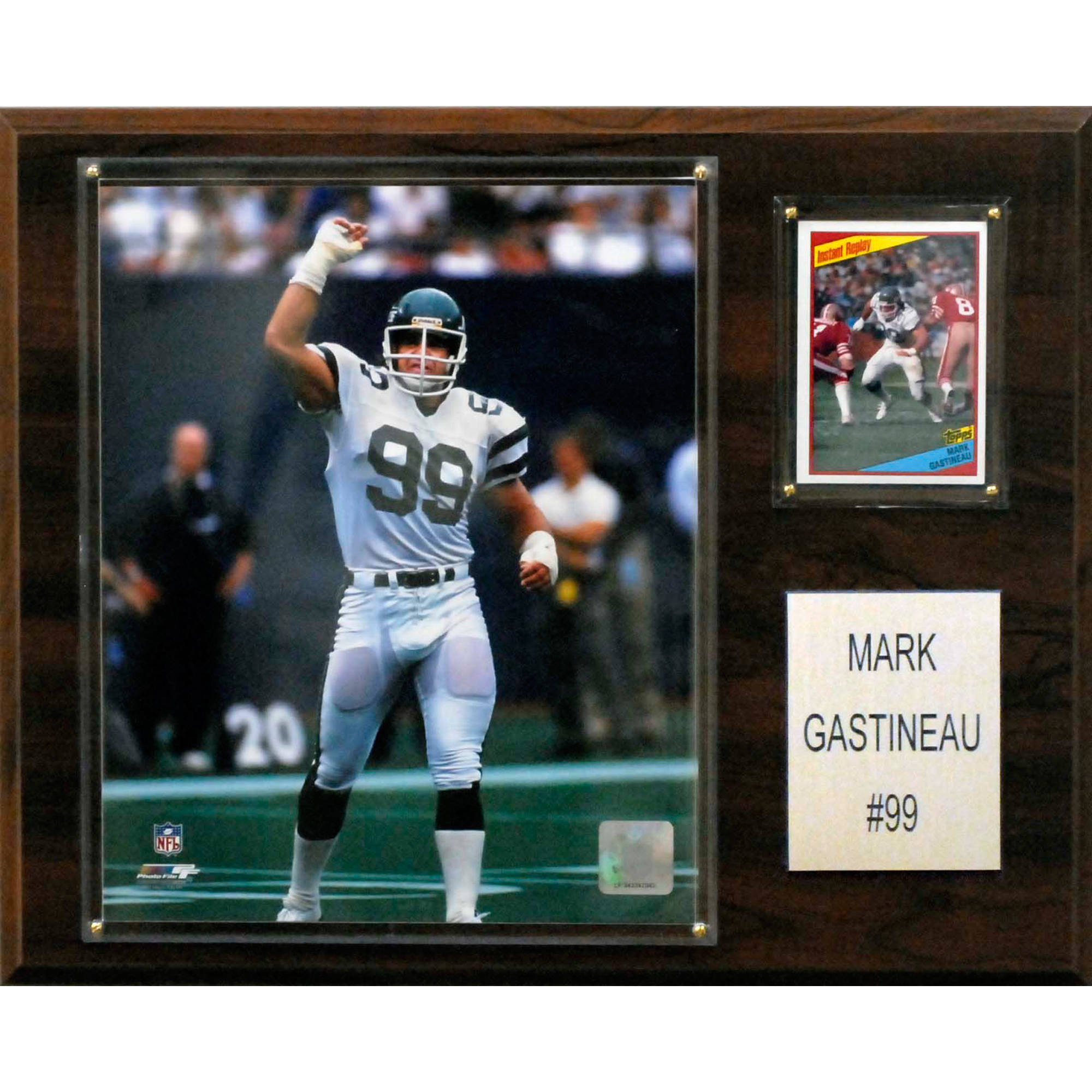 C&I Collectables NFL 12x15 Mark Gastineau New York Jets Player Plaque