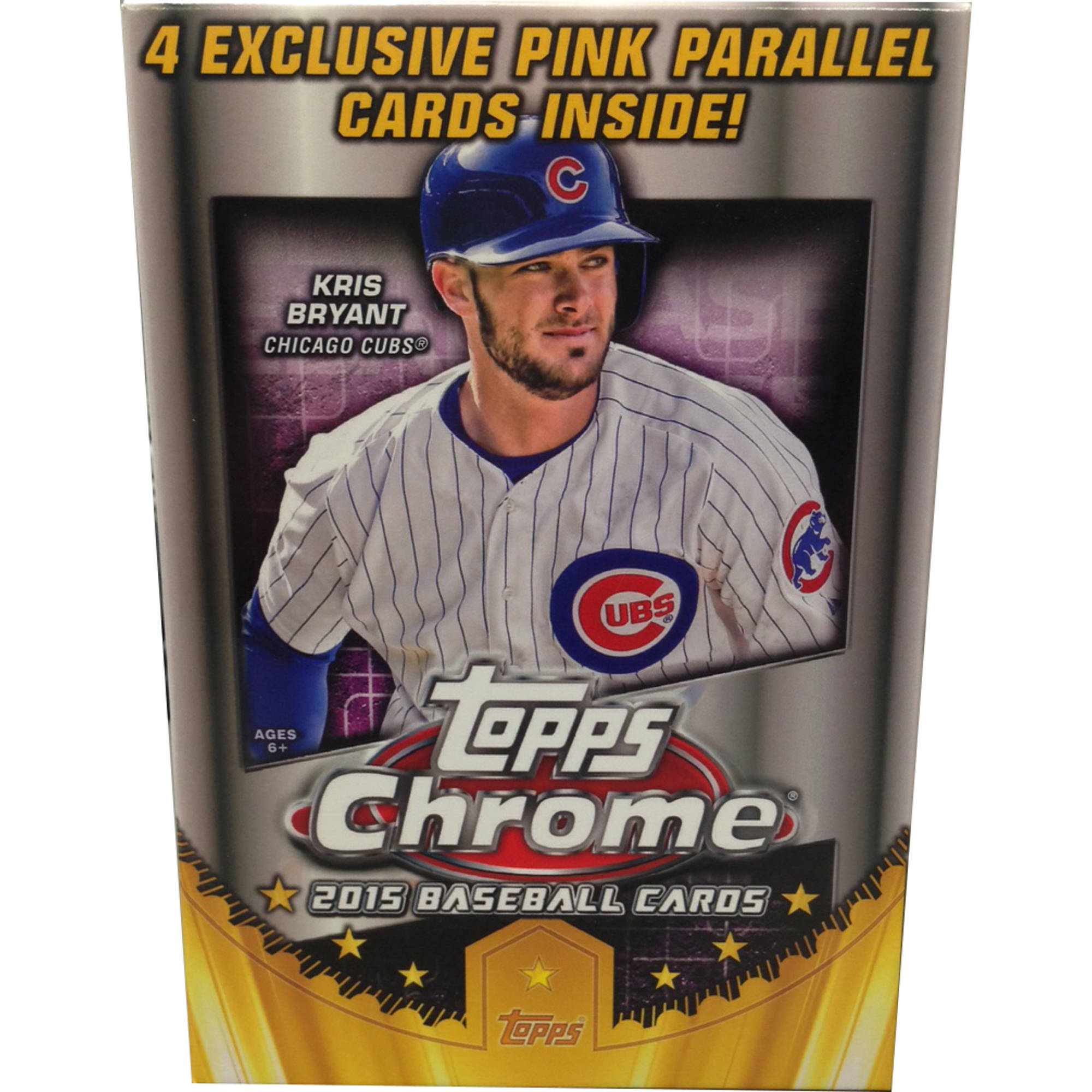 15 Topps Chrome Baseball Value Pack