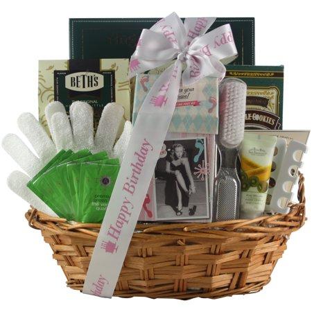 Hands Feet Specialty Spa Bath Body Birthday Gift Basket