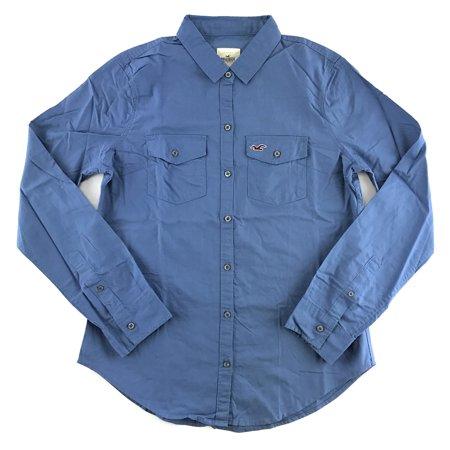 Hollister Irrigator Sleeve - Hollister Women's Long Sleeve Woven Button Up Shirt