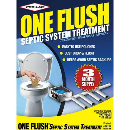 Septic Tank Flush - PRO-LAB One Flush Septic Treatment
