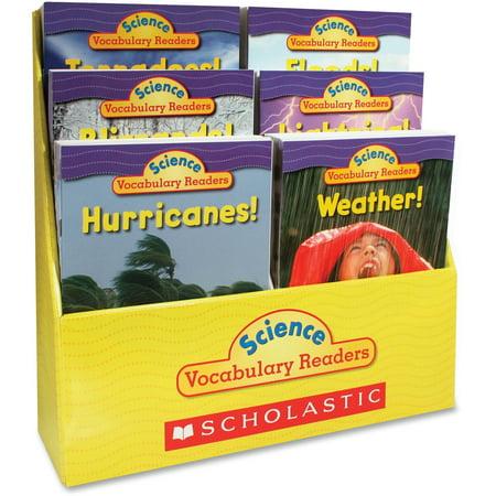 - Scholastic, SHS0545015987, Res. Grade 1-2 Vocabulary Readers Weather Books, 1 Set