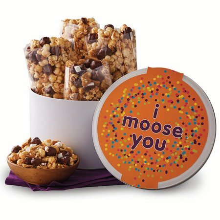 Moose Munch I Moose You Popcorn Gift Tin by Harry & David - Harry And David Halloween Cookies