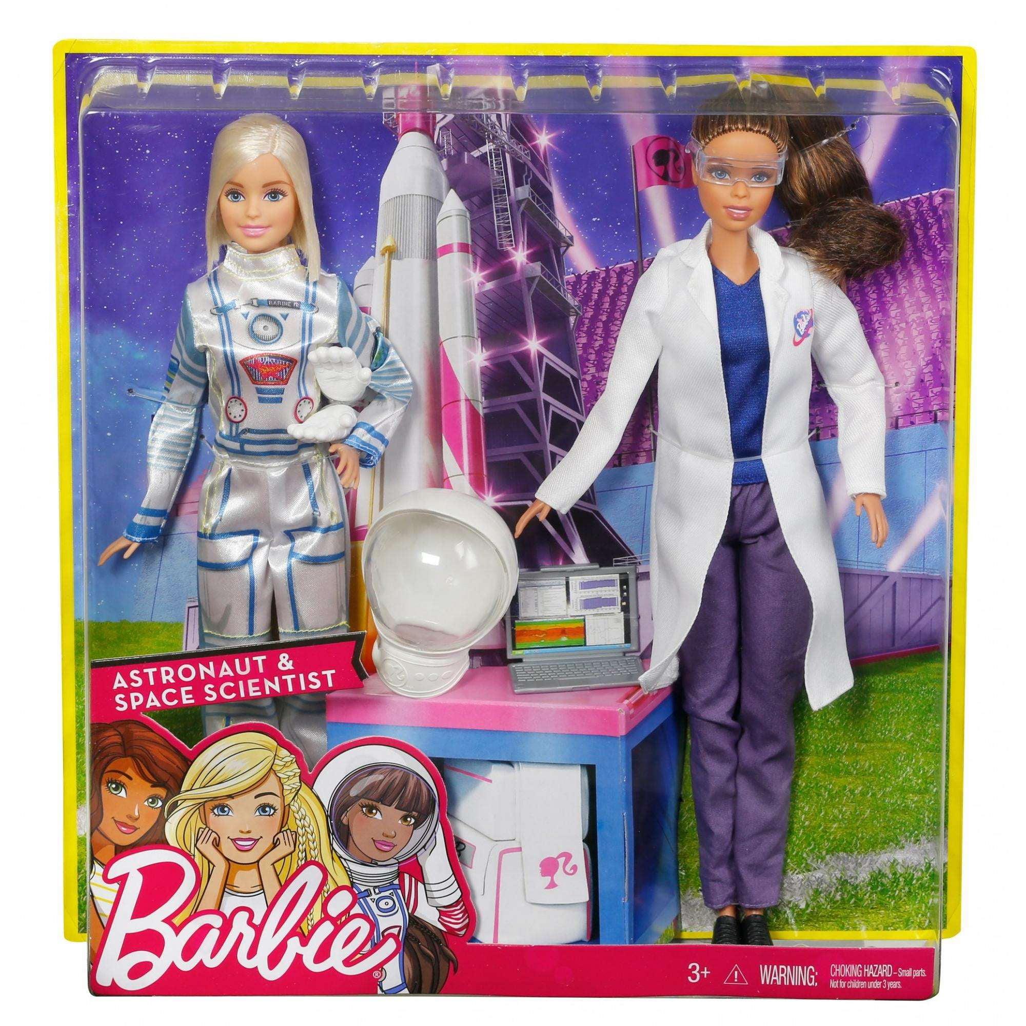 Barbie Careers Space Exploration Doll 2 Pack Walmartcom
