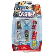 """Ooshies Set 3 """"DC Comics Series 1"""" Action Figure (7 Pack)"""