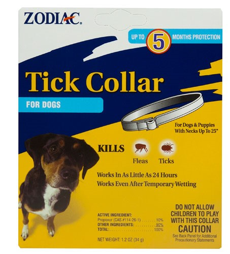 Zodiac Flea and Tick Collar for Dogs