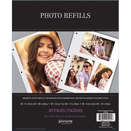 Pinnacle Frames And Accents Magnetic Photo Refill Walmartcom