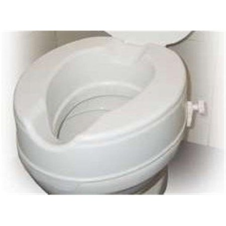 Excellent Drive Medical 12064 Raised Toilet Seat Without Lid 4 Inches Dailytribune Chair Design For Home Dailytribuneorg