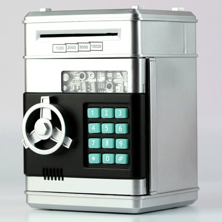 Atm Automatic Money Rolling Piggy Bank Independent Coin Mouth With Password Automatically Involved In The Safe 1 Pcs - image 5 de 6
