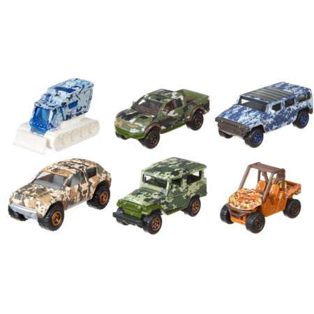 Matchbox Camo Truck (Styles May Vary)