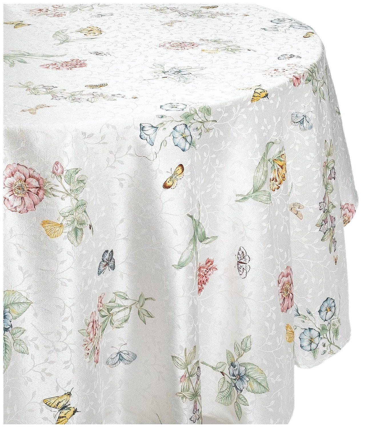 Lenox Butterfly Meadow 70 Inch Round Tablecloth   Walmart.com