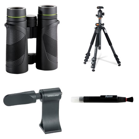 Vanguard Spirit Xf 10X42mm Binoculars W  Alta Pro 264At Tripod   Adapter