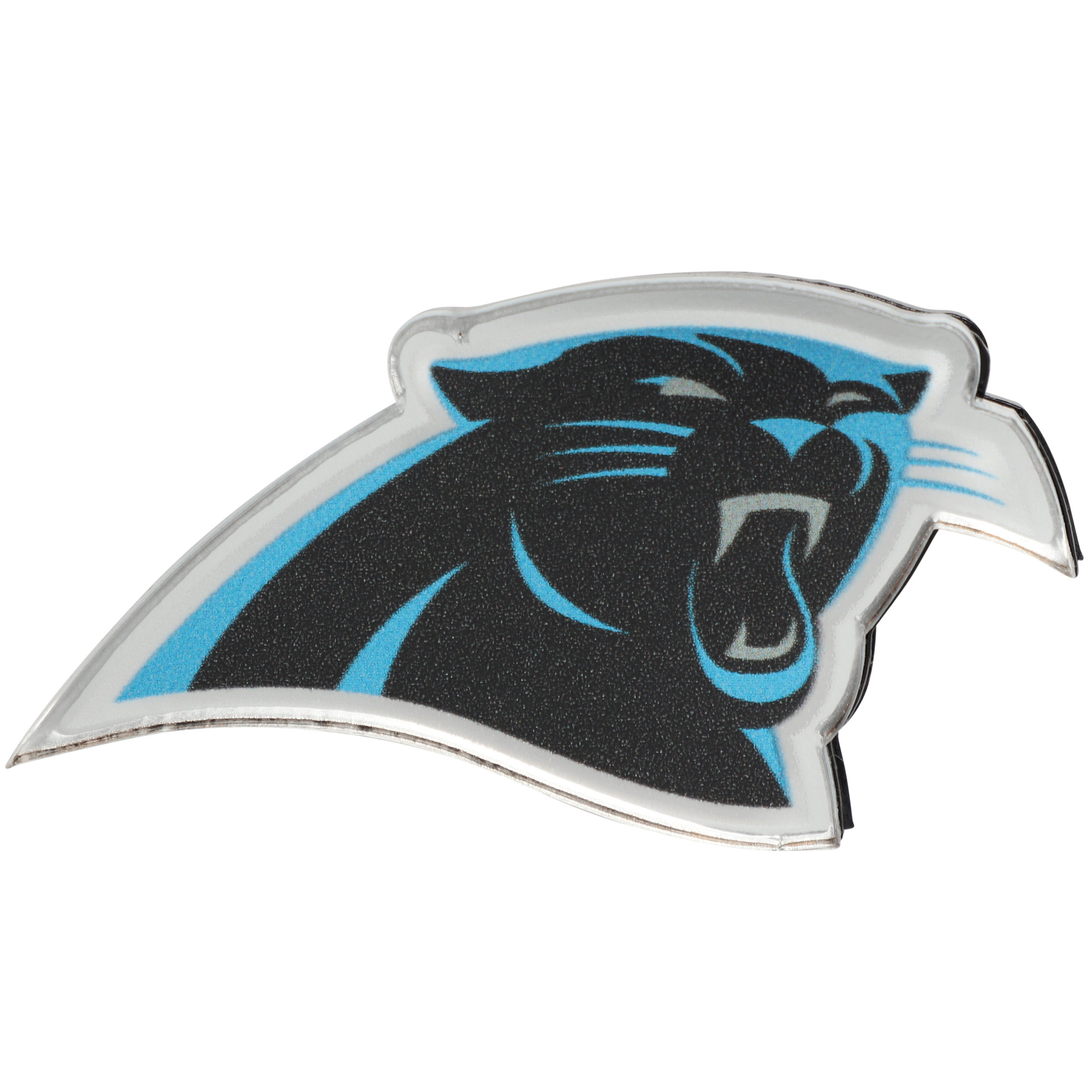 Carolina Panthers Acrylic License Plate Screw Cover - No Size