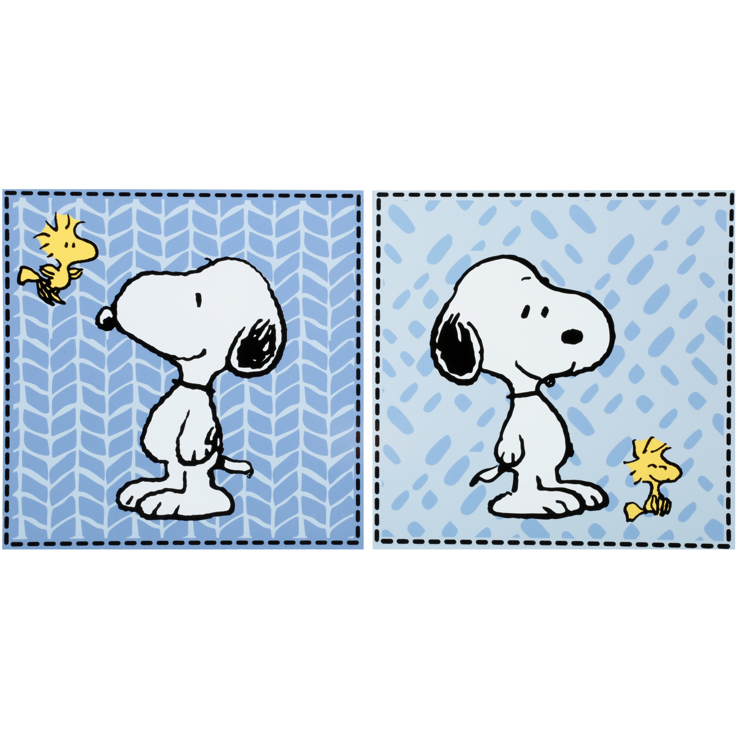 Lambs & Ivy Bedtime Originals™ Peanuts Forever Snoopy Wall Decor 2 pc Box