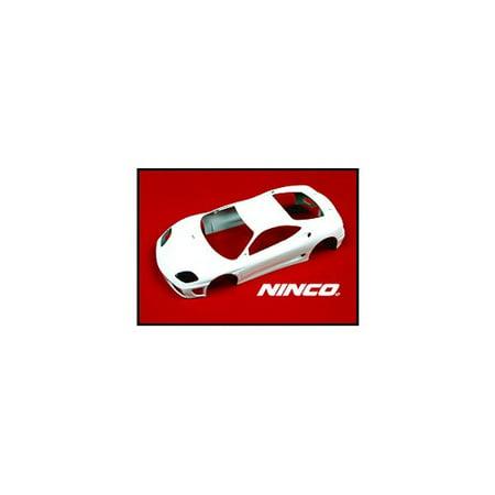 1 32 Ninco Prorace Slot Car Parts   Body Kits Plain White   Ferrari 360 Gtc  80865  Multi Colored