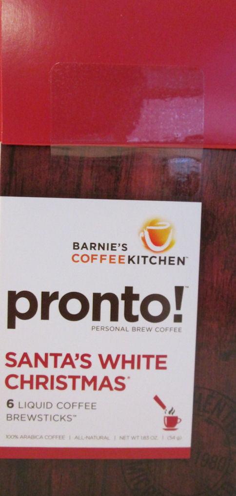Barnie\'s CoffeeKitchen Pronto! Santa\'s White Christmas Liquid Coffee ...