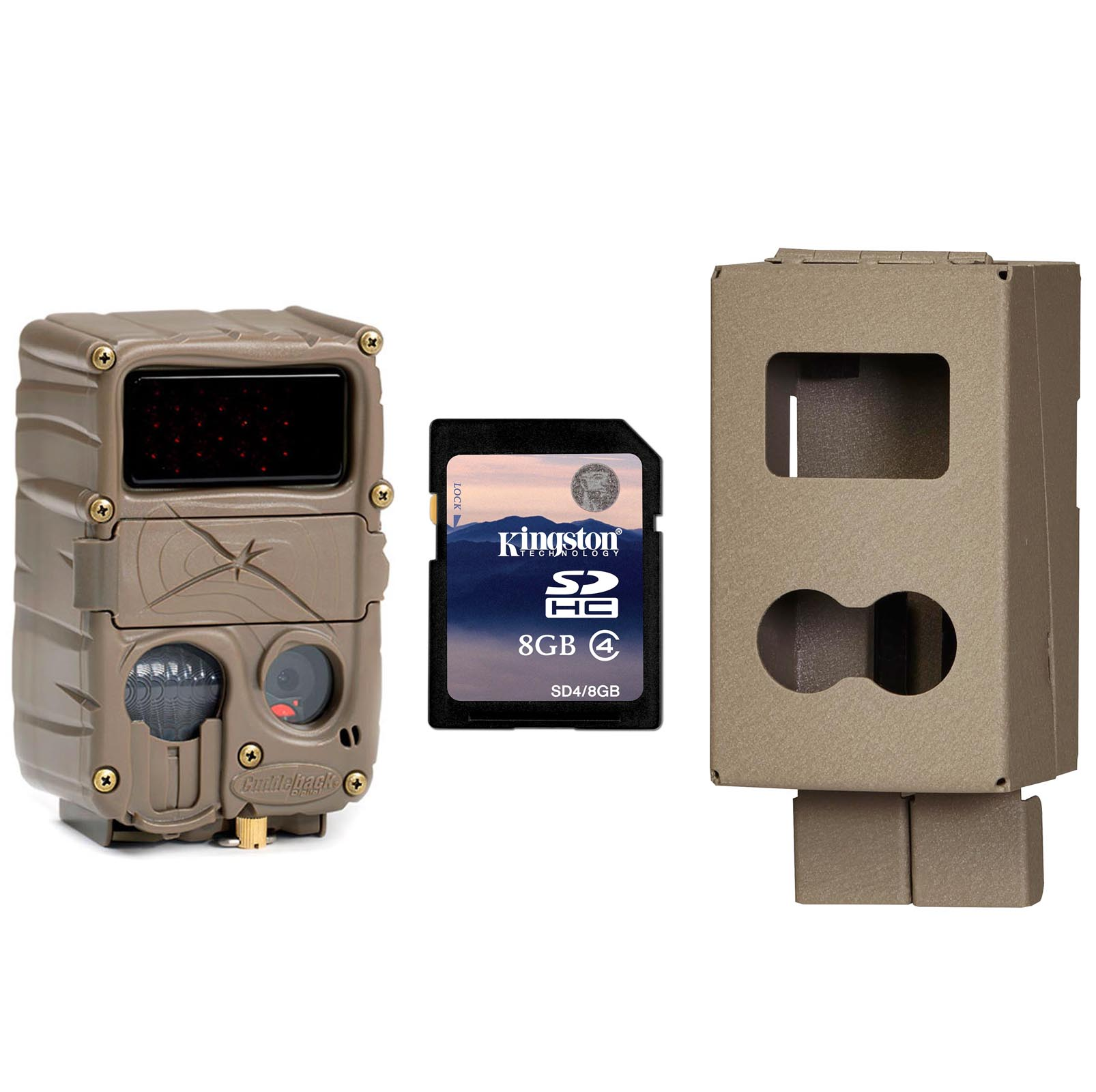 New CUDDEBACK E3 No Glow Infrared 20MP Micro Trail Game Camera w  Case & SD Card by Cuddeback