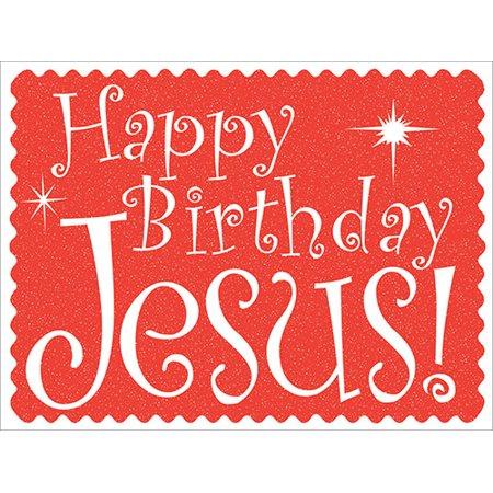 Yard Sign-Happy Birthday Jesus - Yard Signs For Birthday