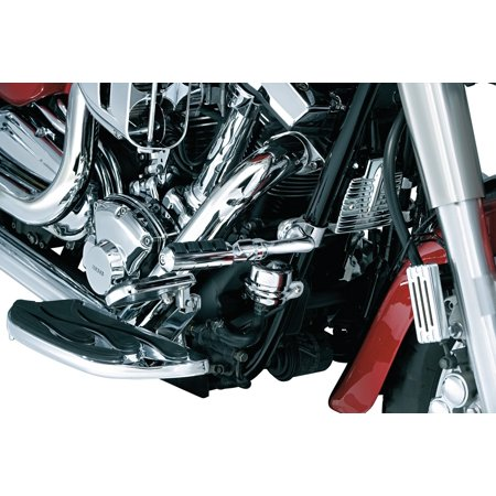 Kuryakyn Right Angle Cruise Mount   Short Mount with Pegs 4517