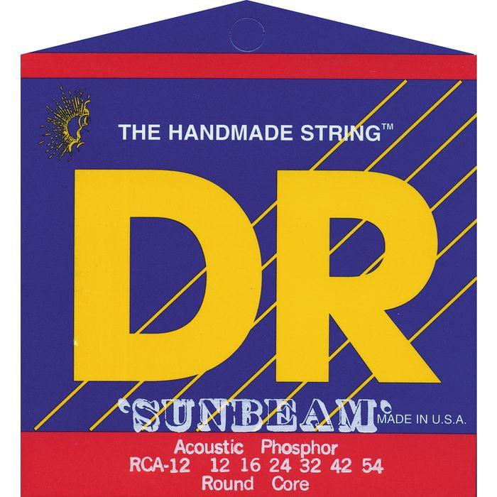 DR Strings RCA-12 Sunbeam Acoustic Medium 12-54