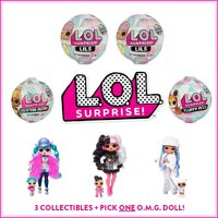 L.O.L. Surprise! Ultimate Winter Disco Bundle with 6 Dolls