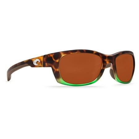 923468c755f2a Costa Del Mar - Costa Del Mar Trevally Matte Tortuga Fade Sunglasses -  Walmart.com