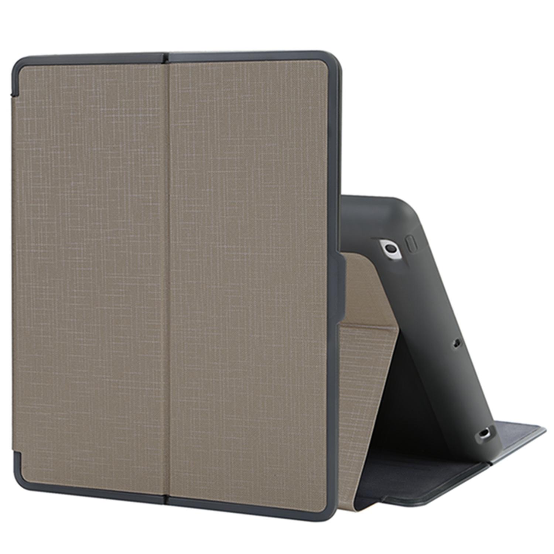 TKOOFN Flip Folio Shockproof Wallet Stand Case Cover with Auto Sleep/Wake for Apple iPad 2/3/4