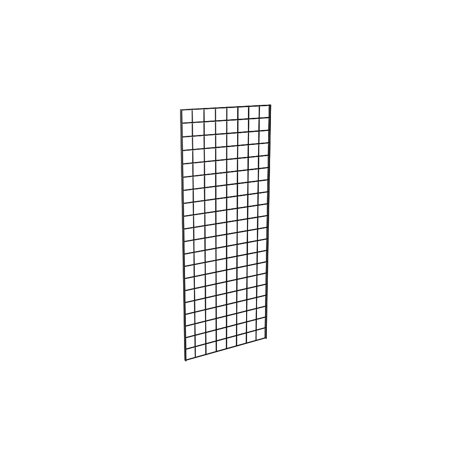 Grid Panel for Retail Display – Perfect Metal Grid for Any Retail Display, 2' Width x 5' Height, 3 Grids Per Carton (Black)