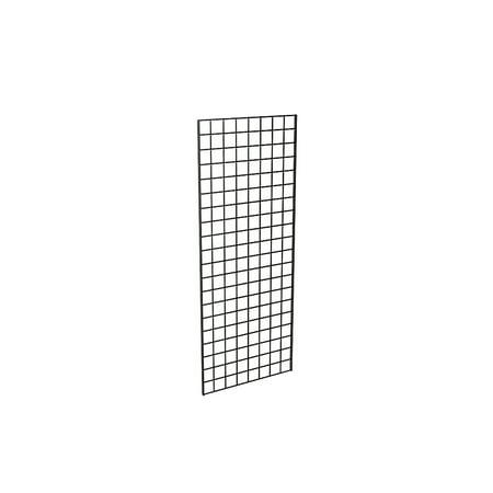 Grid Panel for Retail Display â Perfect Metal Grid for Any Retail Display, 2â Width x 5â Height, 3 Grids Per Carton (Black)