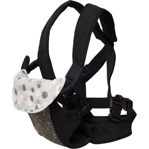First Years Fleurville Front Carrier Gray-pink