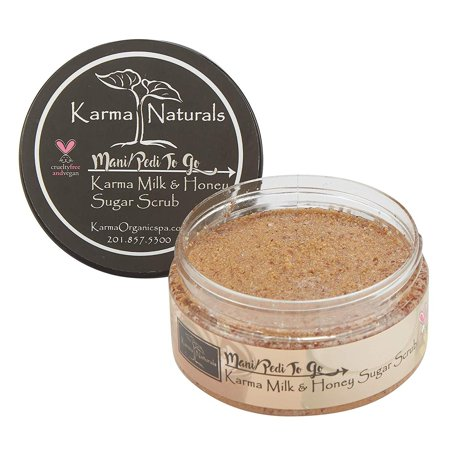 Karma Organic Sugar body scrub and lotion -cruelty-free exfoliating scrub for women