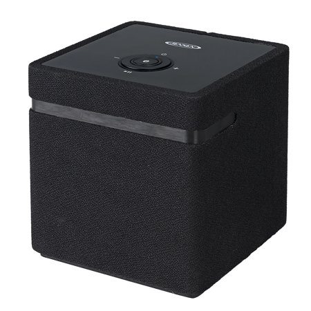 JENSEN Bluetooth/Wi-Fi Stereo Smart Speaker with Chromecast built-in - Black (JSB-1000)