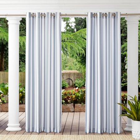 Better Homes & Gardens Cabana Stripe Outdoor Curtain ()