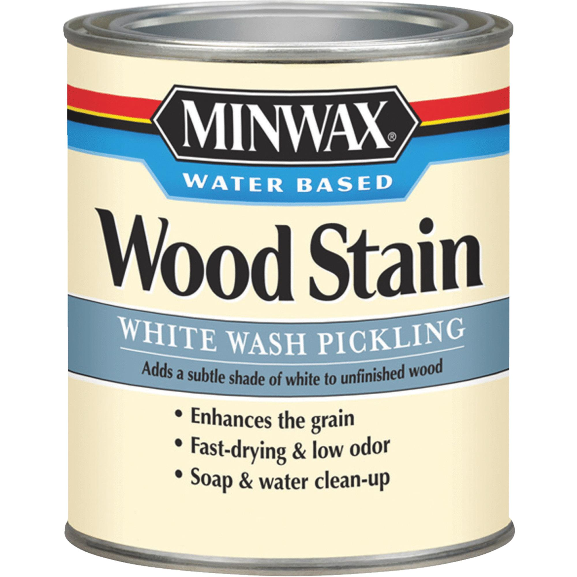 Minwax Water-Based White Wash Pickling Wood Stain